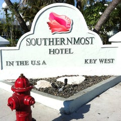 Photo taken at Southernmost Hotel in the USA by Boris O. on 2/25/2012