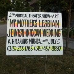 Photo taken at Auburn Public Theater by Carol K. on 7/6/2012