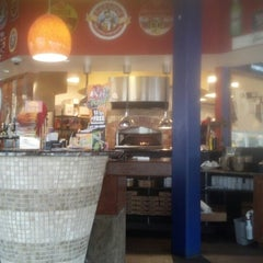 Photo taken at Brixx Wood Fired Pizza by Ouida M. on 8/7/2012