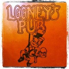 Photo taken at Looney's Pub by Sean B. on 3/9/2012