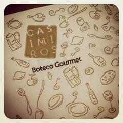 Photo taken at Casimiros Boteco Gourmet by Silvia S. on 5/19/2012