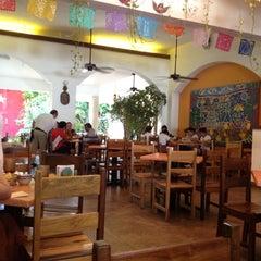 Photo taken at La Choza Cozumel by Gisell D. on 4/23/2012