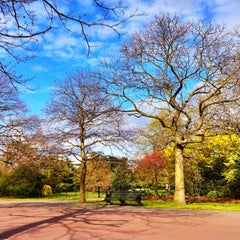 Photo taken at Greenwich Park by Dmytro G. on 4/15/2012