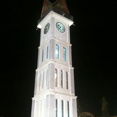 Photo taken at Jam Gadang by Aryati R. on 5/19/2012