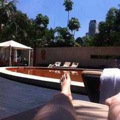 Photo taken at Tivoli São Paulo - Mofarrej by Leandro M. on 3/6/2012