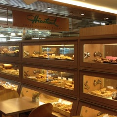 Photo taken at Heistand Swiss Bakery by Callie L. on 4/6/2012