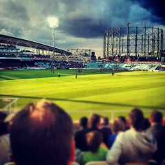 Photo taken at The Pavilion At The Oval by Biff on 6/13/2012