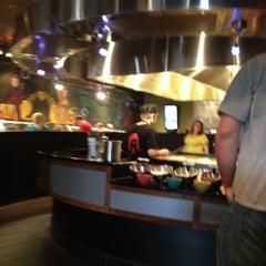 Photo taken at HuHot Mongolian Grill by Ben S. on 5/17/2012