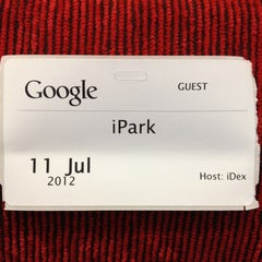 Photo taken at Google by Izzy P. on 7/11/2012