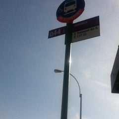 Photo taken at MTA - Q44 Bus Stop by Shelly G. on 3/12/2012