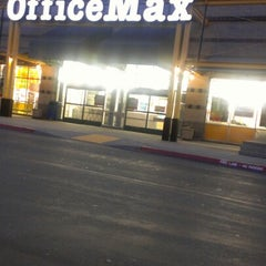 Photo taken at OfficeMax - CLOSED by Jonathan A. on 8/15/2012