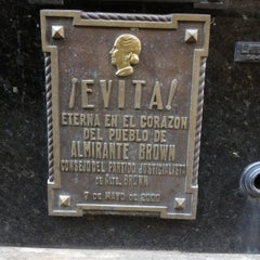 Photo taken at Eva Peron's Grave by Tony on 6/25/2012
