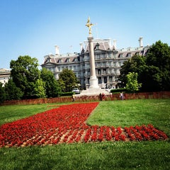 Photo taken at The Ellipse — President's Park South by Joseph G. on 5/17/2012
