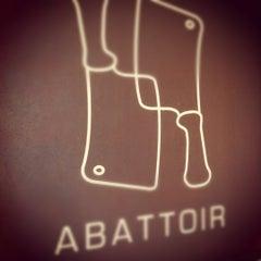 Photo taken at Abattoir by Nikki G. on 4/5/2012