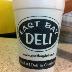 Photo taken at East Bay Deli by Robert G. on 7/16/2012