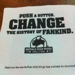 Photo taken at Buffalo Wild Wings by Yamillette L. on 3/25/2012