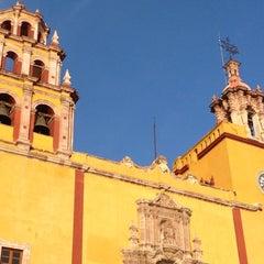 Photo taken at Basílica Colegiata de Nuestra Señora de Guanajuato by JESSICA T. on 8/6/2012