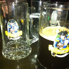Photo taken at Corsaire Microbrasserie by Oli S. on 5/13/2012