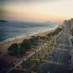 Photo taken at Praia de Itaparica by Camila M. on 2/24/2012