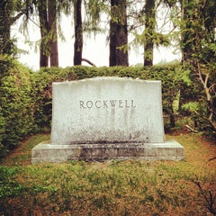 Photo taken at Stockbridge Cemetery by Chris C. on 4/30/2012