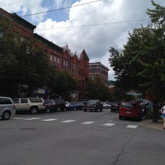 Photo taken at Main Street In Cooperstown, NY by Caroline H. on 8/11/2012