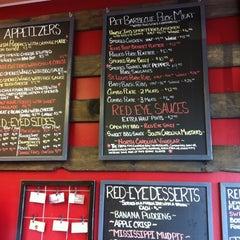 Photo taken at Red Eyed Pig by Kristin B. on 6/29/2012