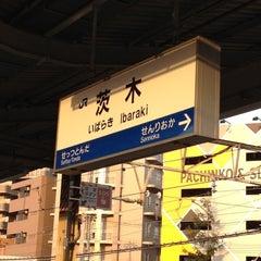 Photo taken at 茨木駅 (Ibaraki Sta.) by somapapa616710 on 4/4/2012