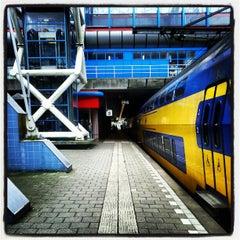 Photo taken at Station Amsterdam Sloterdijk by Corstiaan S. on 5/5/2012