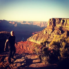 Photo taken at Desert View Watchtower by Karla N. on 6/8/2012