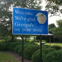 Photo taken at Georgia / South Carolina State Line by Katarina T. on 6/22/2012