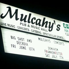 Photo taken at Mulcahy's Pub & Concert Hall by Diana on 6/10/2012