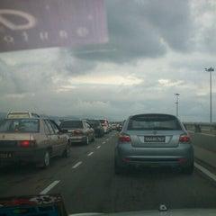 Photo taken at Flyover Petagas by SitiAsmah T. on 8/10/2012