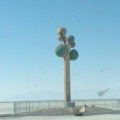 Photo taken at Metaphor: The Tree Of Utah by Jolee C. on 9/13/2012