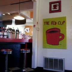 Photo taken at The Red Cup by Laura on 2/14/2012