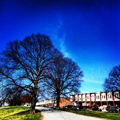 Photo taken at Patterson Park by GoCatGo …. on 3/10/2012