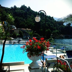 Photo taken at Hotel Lido Seegarten Lugano by jack a. on 6/17/2012