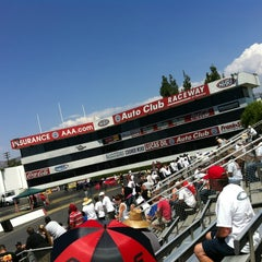 Photo taken at AAA Auto Club Raceway by Doug d. on 8/18/2012