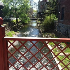 Photo taken at The Carriage Path Bridge @ Town of Warwick by Heather H. on 4/17/2012