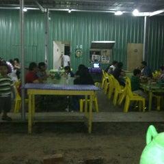 Photo taken at stall no 10 tanjung lobang by Shafiera M. on 6/2/2012