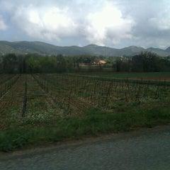 Photo taken at Saint-Zacharie by Samantha D. on 4/6/2012