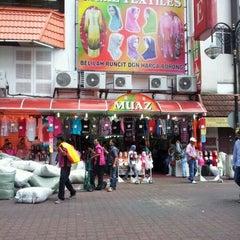 Photo taken at Muaz Textile by wan m. on 7/16/2012