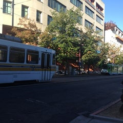 Photo taken at SACRT Light Rail Archives Plaza Station by Larry C. on 8/29/2012