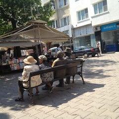 Photo taken at пл. Славейков (Slaveykov Sq.) by Valeriya Y. on 8/4/2012
