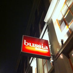 Photo taken at Restaurant Bussia by JY G. on 2/17/2012
