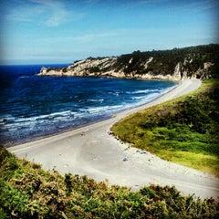 Photo taken at Playa de Barayo by David A. on 7/22/2012