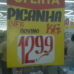 Photo taken at Supermercados Cristal by Brunno C. on 7/10/2012