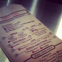 Photo taken at Which Wich? Superior Sandwiches by Nicole K. on 6/23/2012