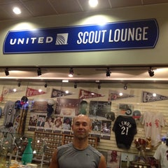 Photo taken at United Scout Lounge by Lego R. on 9/5/2012