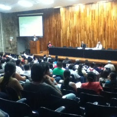 Photo taken at Auditorio Salvador Allende by Yardeli D. on 5/11/2012