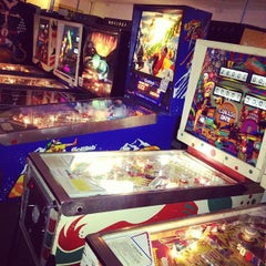 Photo taken at Pinball Hall of Fame by Emma V. on 7/4/2012